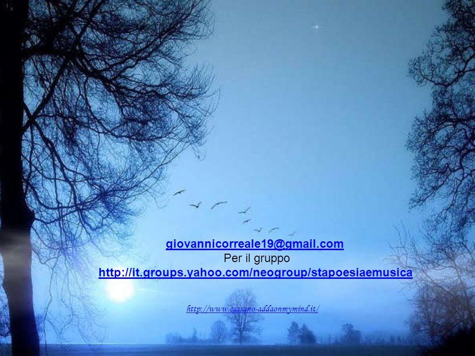 giovannicorreale19@gmail.com Per il gruppo