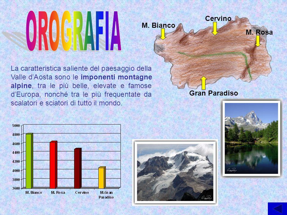 OROGRAFIA Cervino M. Bianco M. Rosa