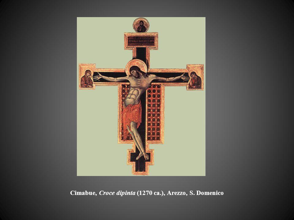 Cimabue, Croce dipinta (1270 ca.), Arezzo, S. Domenico