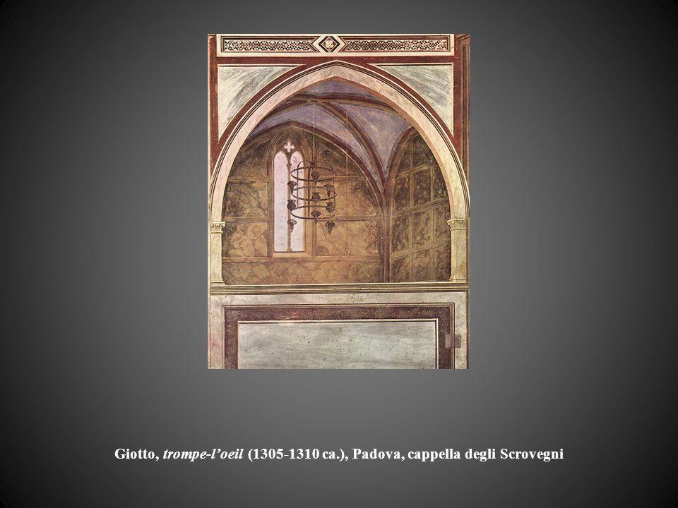 Giotto, trompe-l'oeil (1305-1310 ca