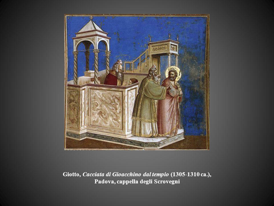 Giotto, Cacciata di Gioacchino dal tempio (1305-1310 ca