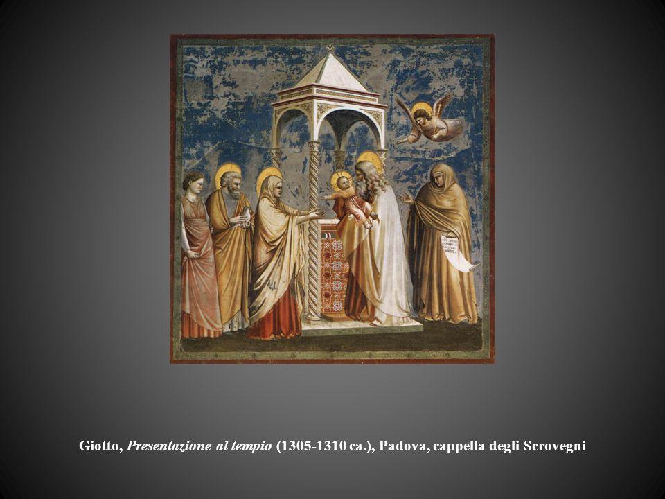 Giotto, Presentazione al tempio (1305-1310 ca