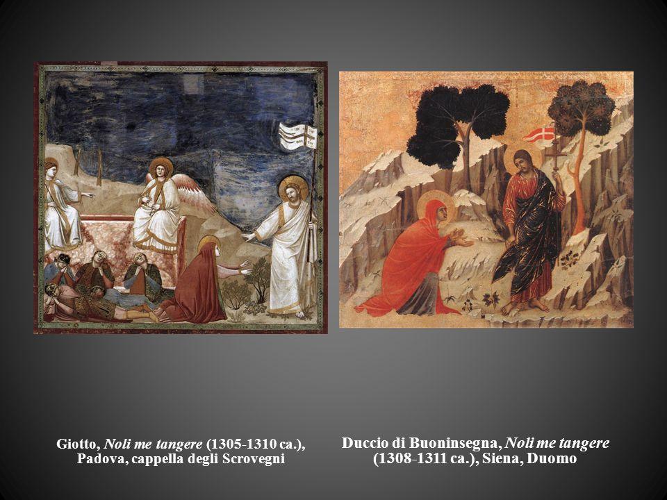 Duccio di Buoninsegna, Noli me tangere (1308-1311 ca.), Siena, Duomo
