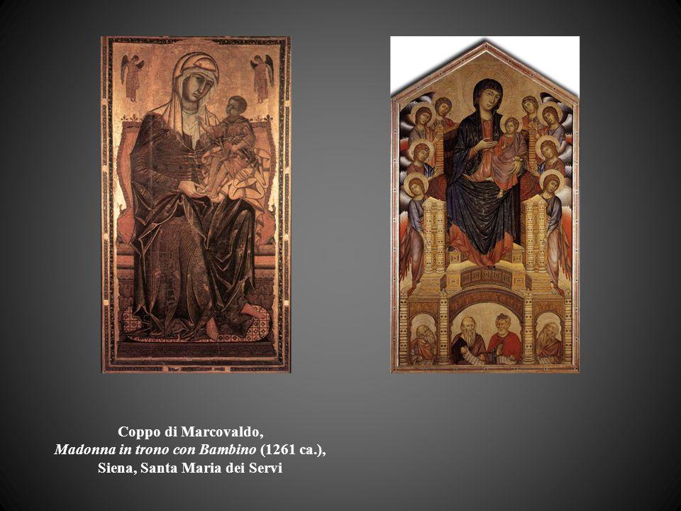 Coppo di Marcovaldo, Madonna in trono con Bambino (1261 ca