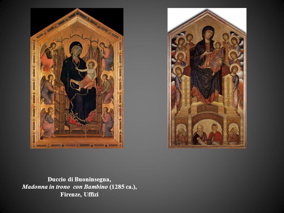 Duccio di Buoninsegna, Madonna in trono con Bambino (1285 ca