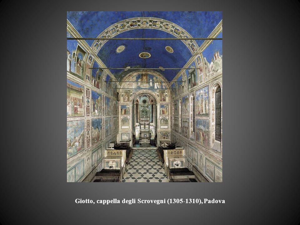 Giotto, cappella degli Scrovegni (1305-1310), Padova