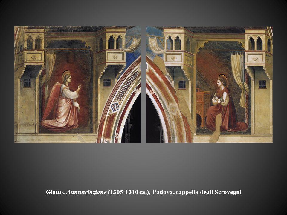 Giotto, Annunciazione (1305-1310 ca