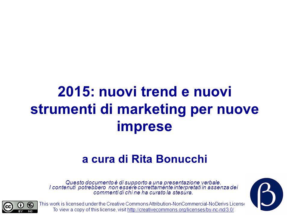 2015: nuovi trend e nuovi strumenti di marketing per nuove imprese