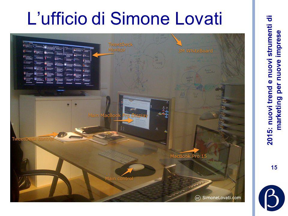 L'ufficio di Simone Lovati