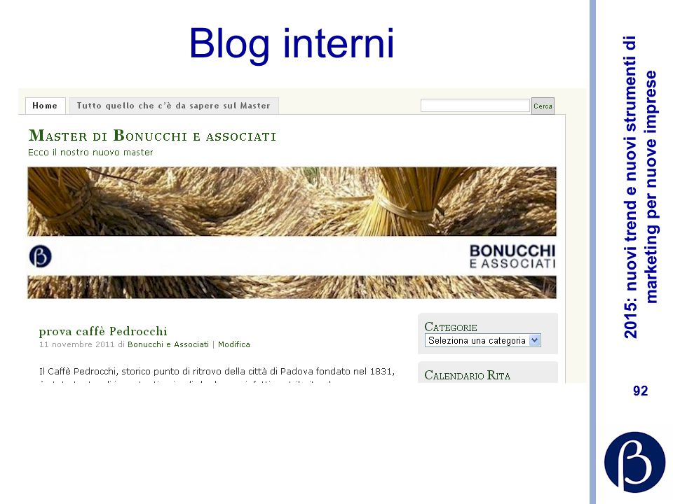 Blog interni