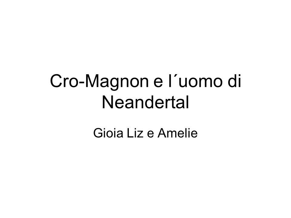 Cro-Magnon e l´uomo di Neandertal