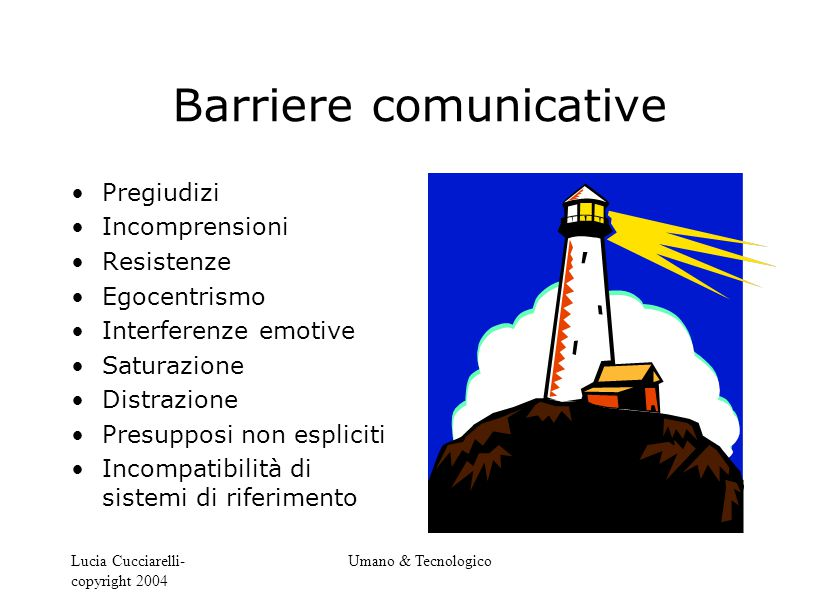 Barriere comunicative