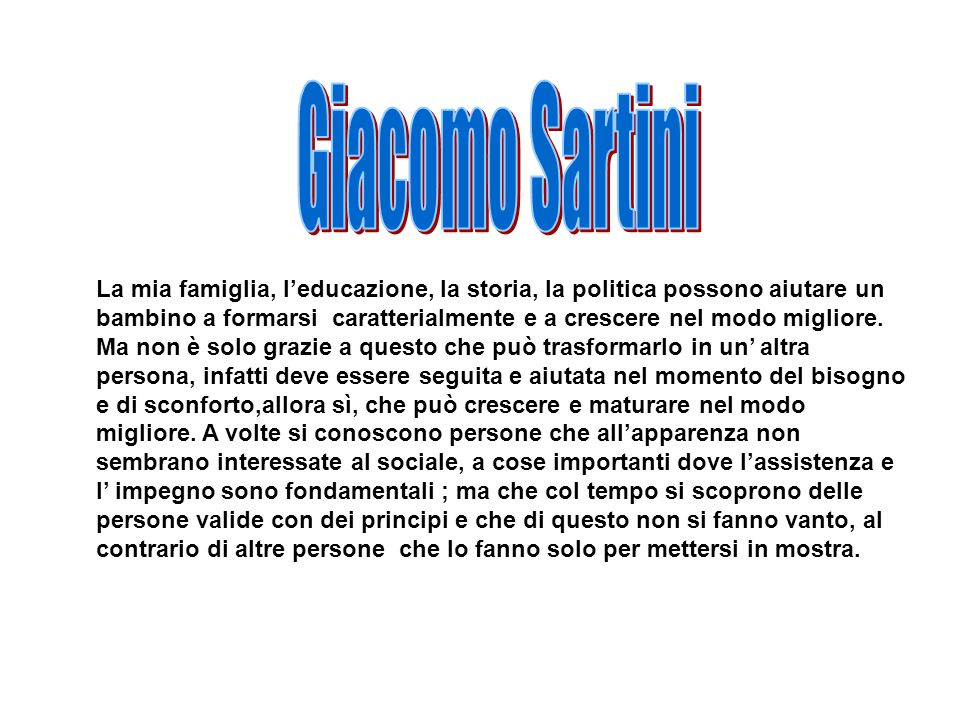 Giacomo Sartini