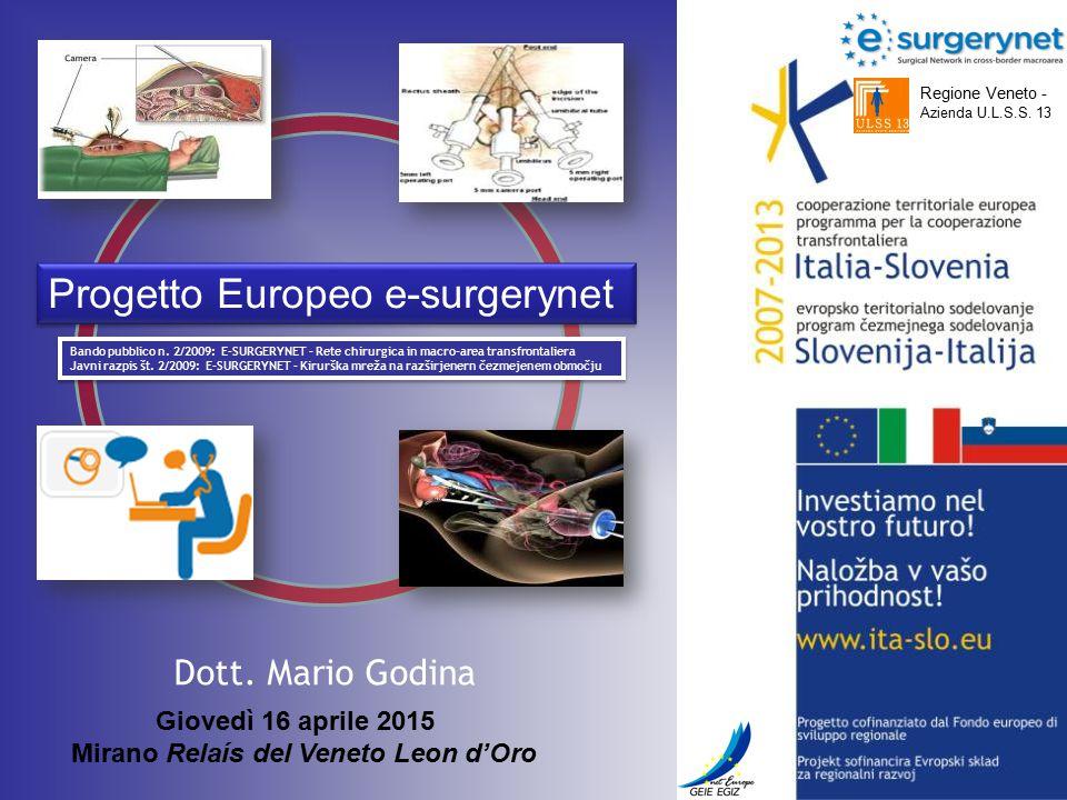 Progetto Europeo e-surgerynet