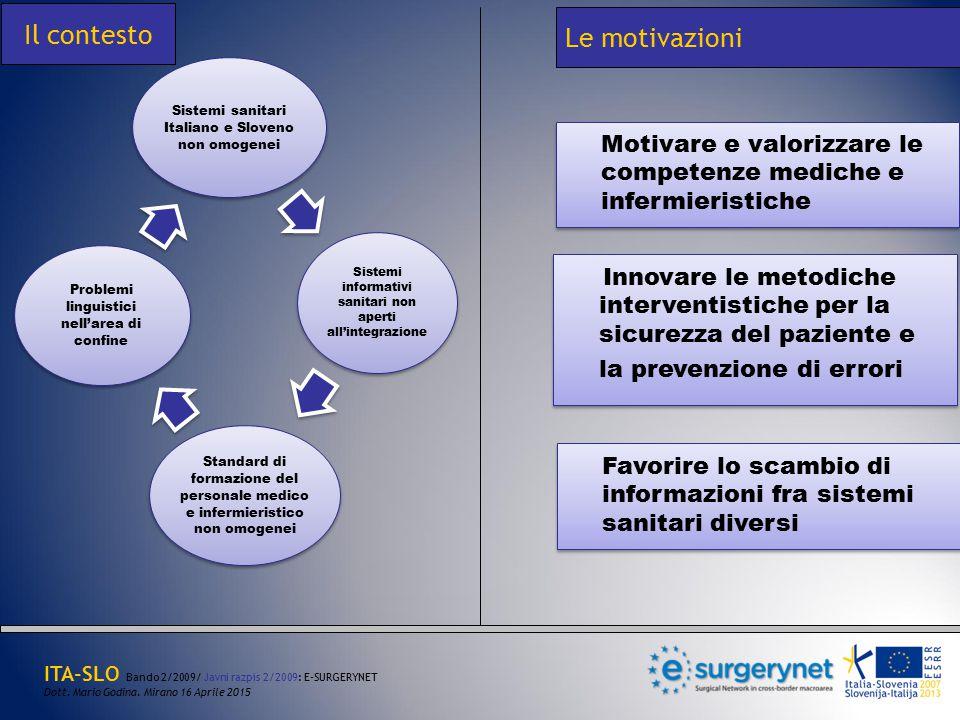 Motivare e valorizzare le competenze mediche e infermieristiche