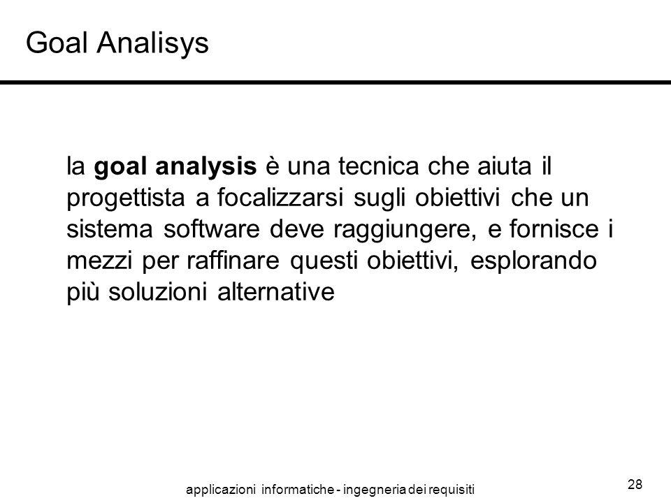 applicazioni informatiche - ingegneria dei requisiti