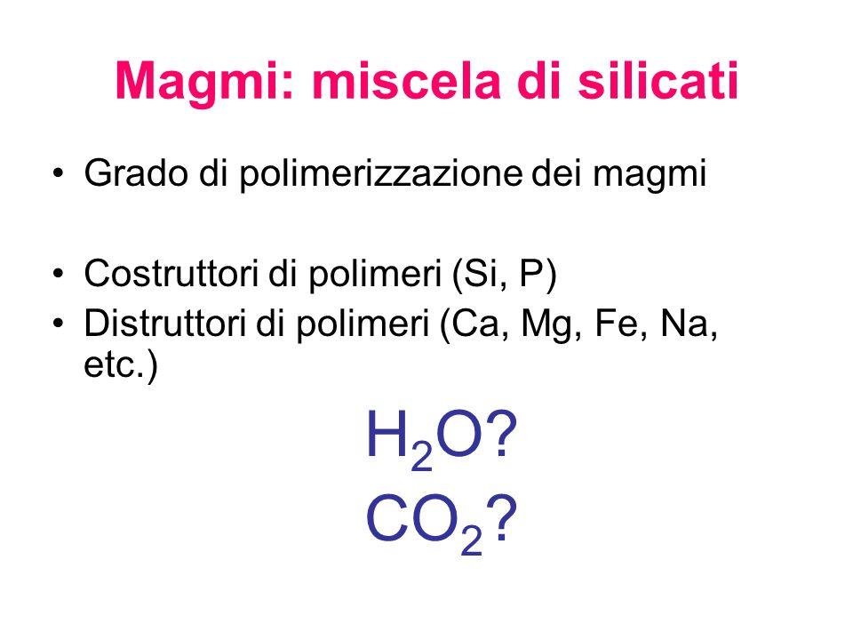 Magmi: miscela di silicati