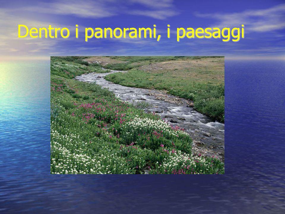 Dentro i panorami, i paesaggi
