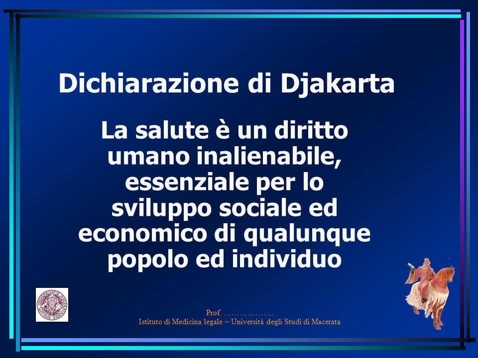 Dichiarazione di Djakarta