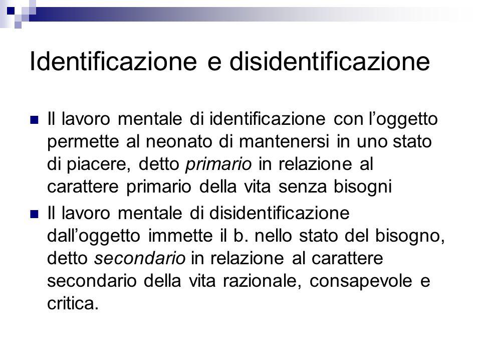 Identificazione e disidentificazione