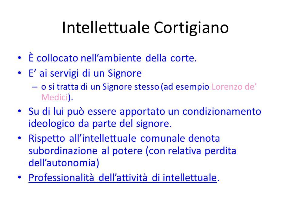 Intellettuale Cortigiano