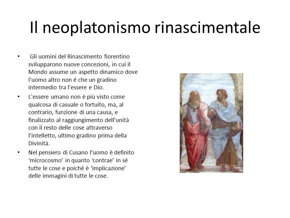 Il neoplatonismo rinascimentale