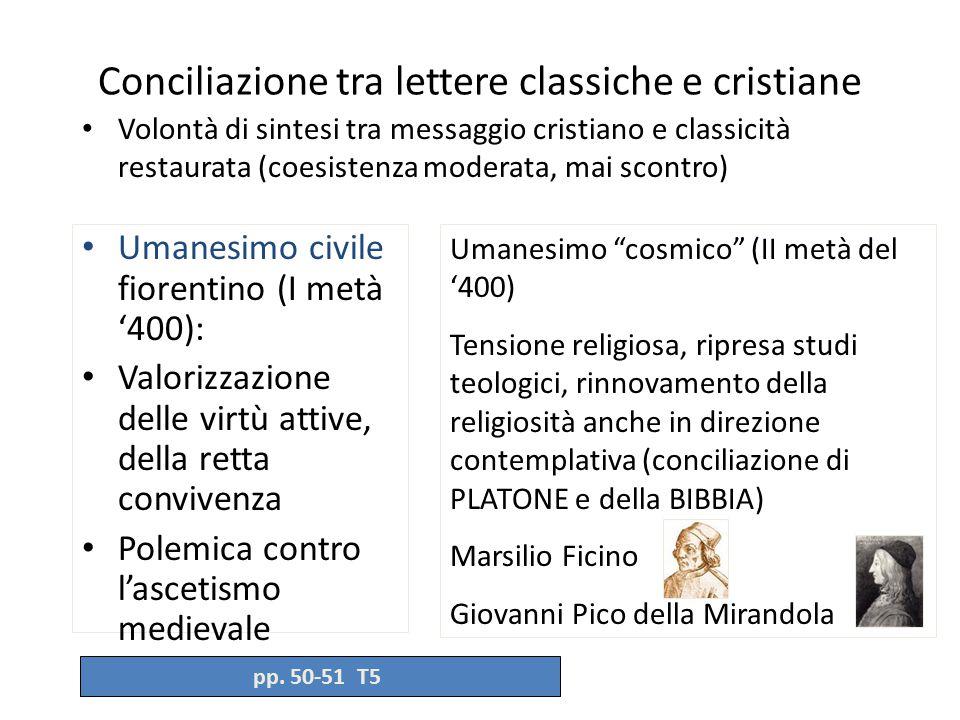 Conciliazione tra lettere classiche e cristiane