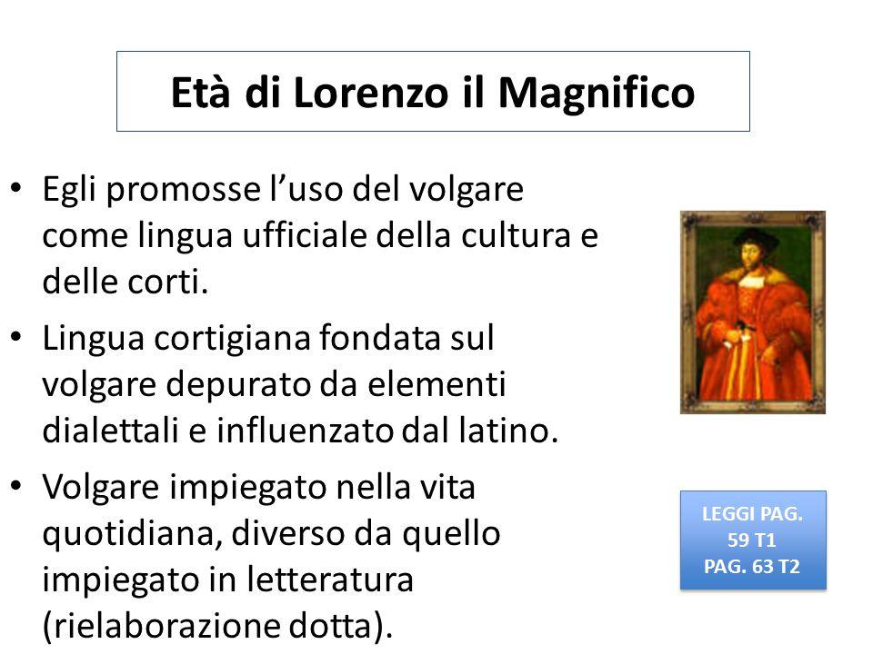 Età di Lorenzo il Magnifico