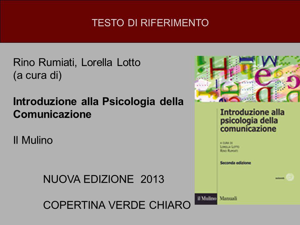 Rino Rumiati, Lorella Lotto (a cura di)