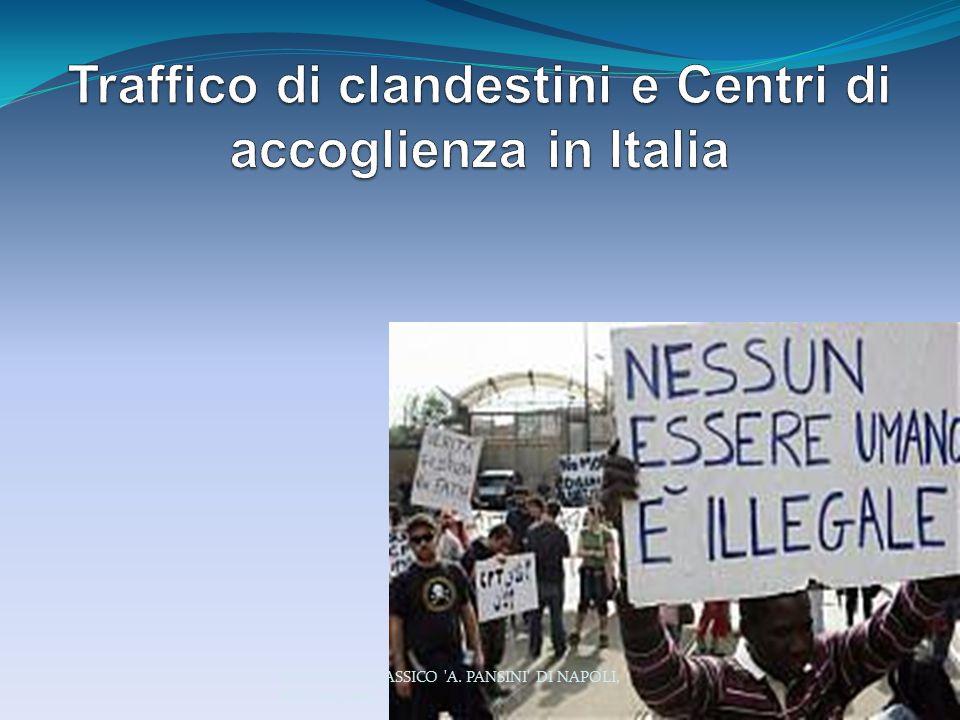 Traffico di clandestini e Centri di accoglienza in Italia