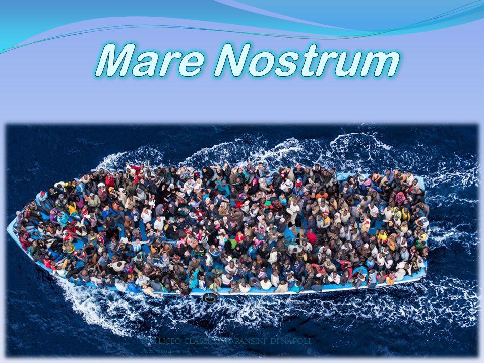 Mare Nostrum IV A LICEO CLASSICO A. PANSINI DI NAPOLI, A.S. 2014-2015