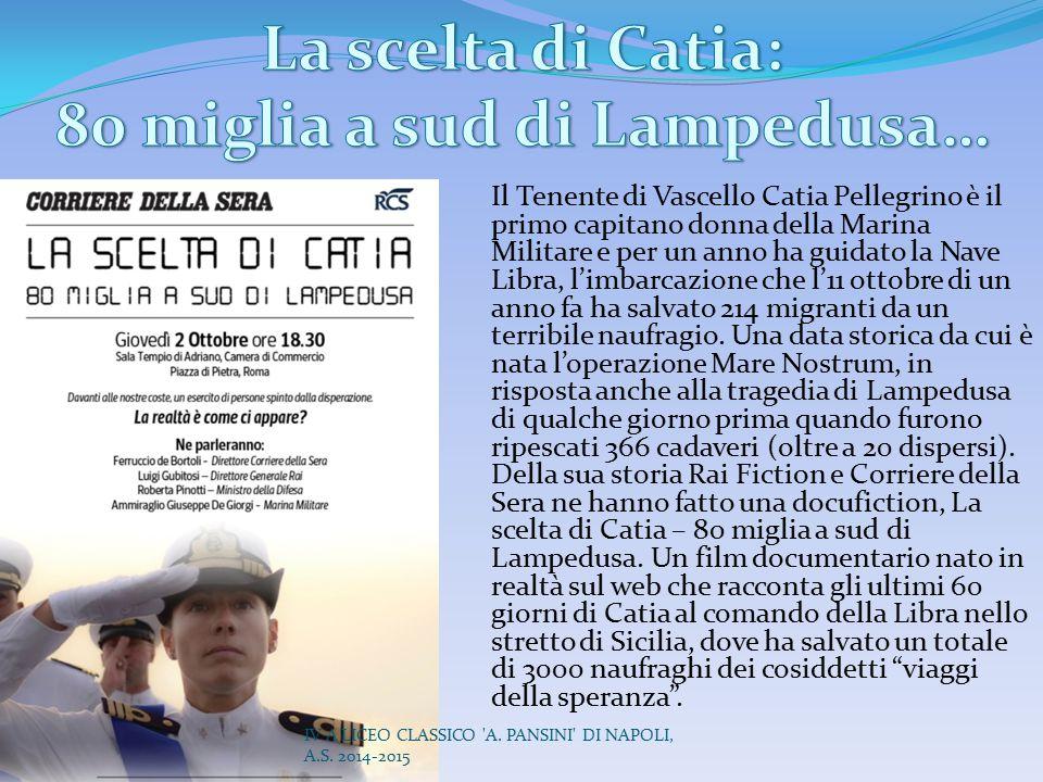 80 miglia a sud di Lampedusa…