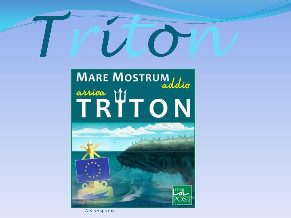Triton IV A LICEO CLASSICO A. PANSINI DI NAPOLI, A.S. 2014-2015