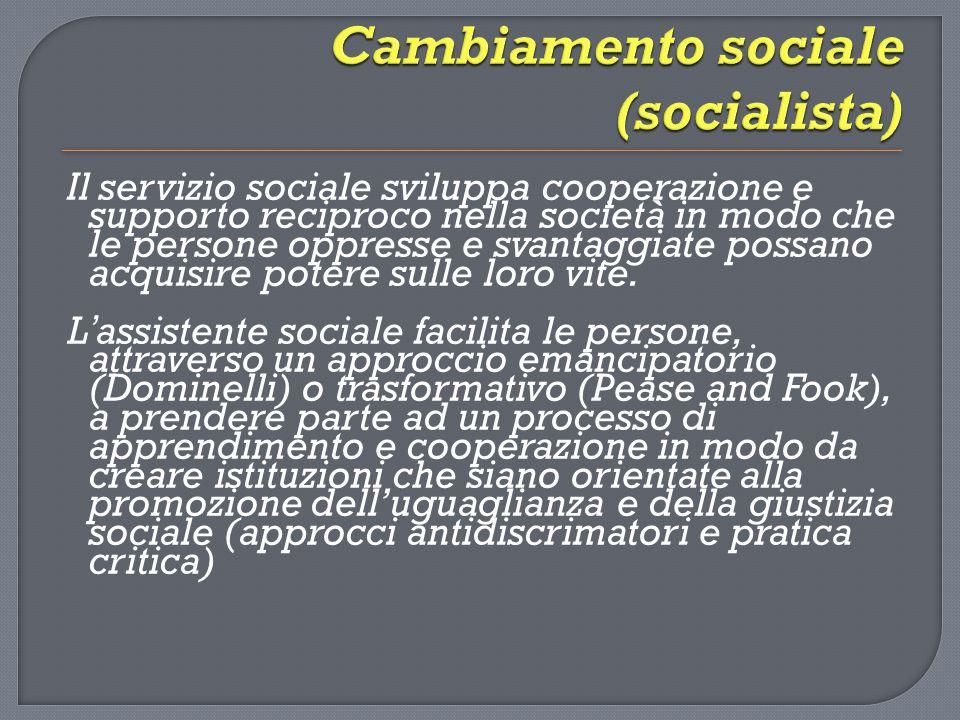 Cambiamento sociale (socialista)