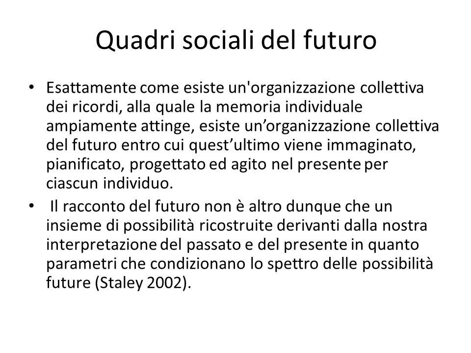 Quadri sociali del futuro