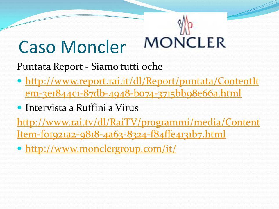 Caso Moncler Puntata Report - Siamo tutti oche