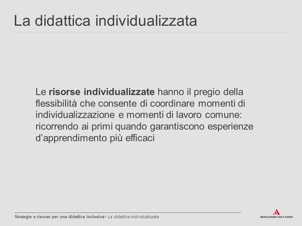 La didattica individualizzata