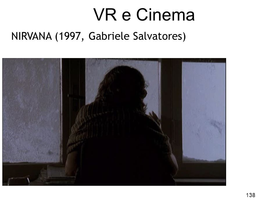 VR e Cinema NIRVANA (1997, Gabriele Salvatores)
