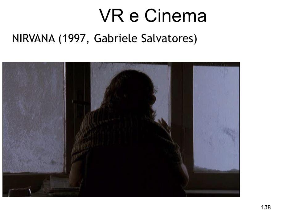 VR e Cinema NIRVANA (1997, Gabriele Salvatores)