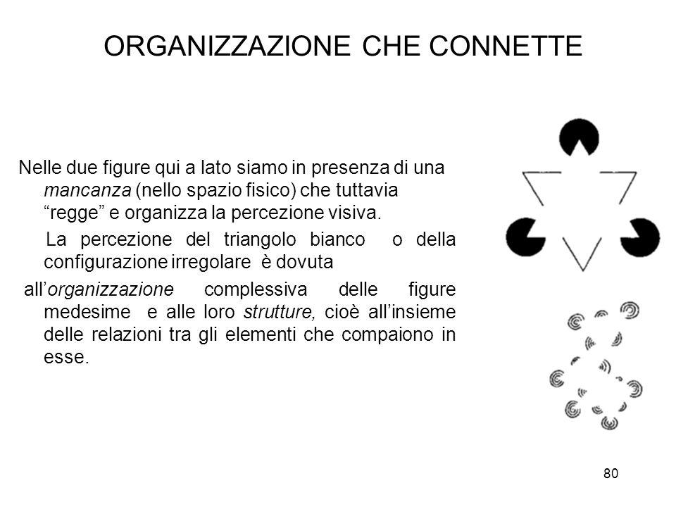 ORGANIZZAZIONE CHE CONNETTE