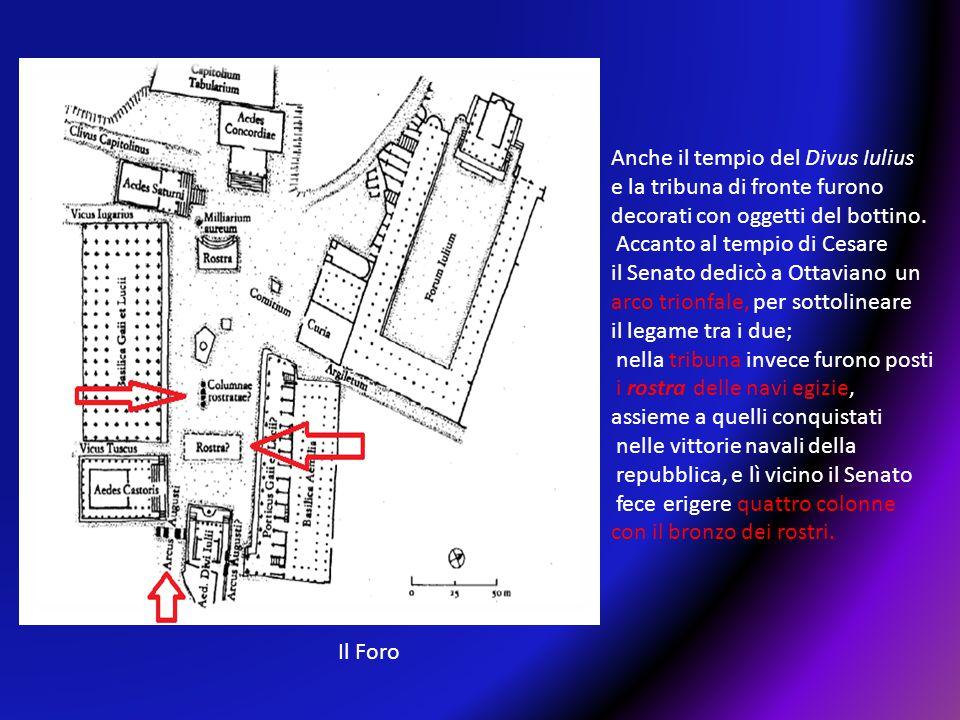 Anche il tempio del Divus Iulius