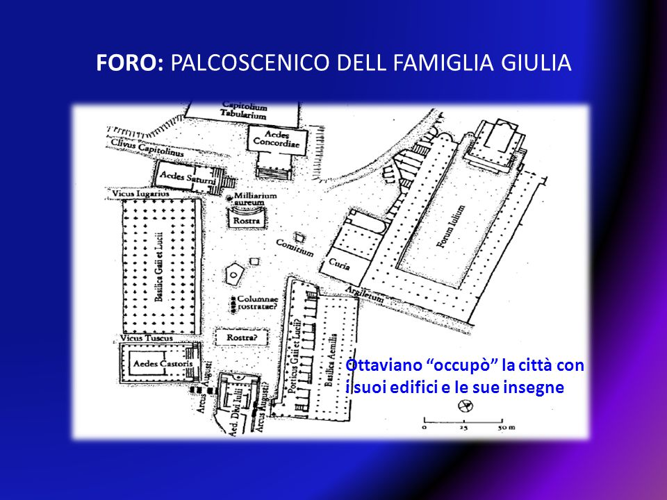 FORO: PALCOSCENICO DELL FAMIGLIA GIULIA