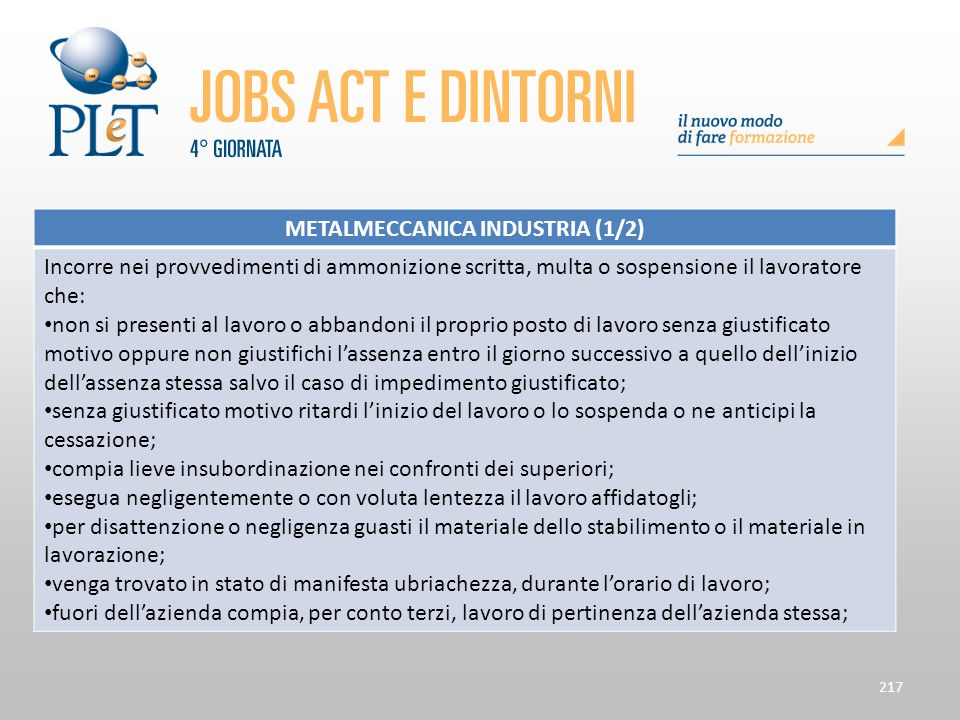 METALMECCANICA INDUSTRIA (1/2)