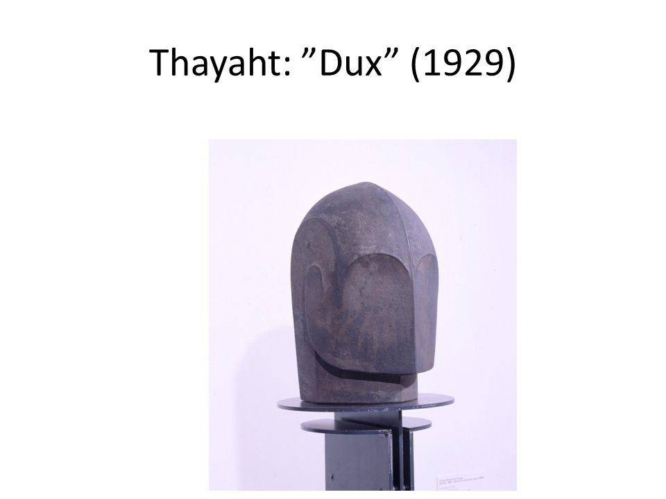 Thayaht: Dux (1929)