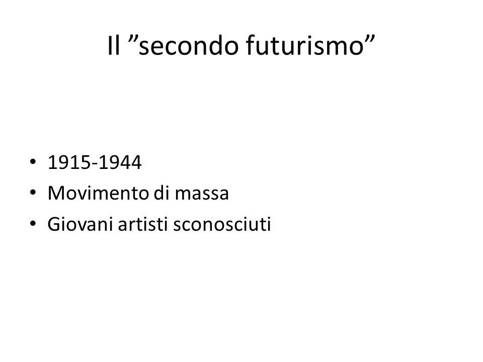 Il secondo futurismo