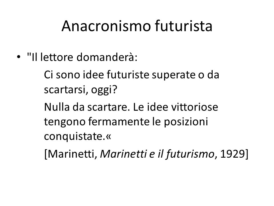 Anacronismo futurista