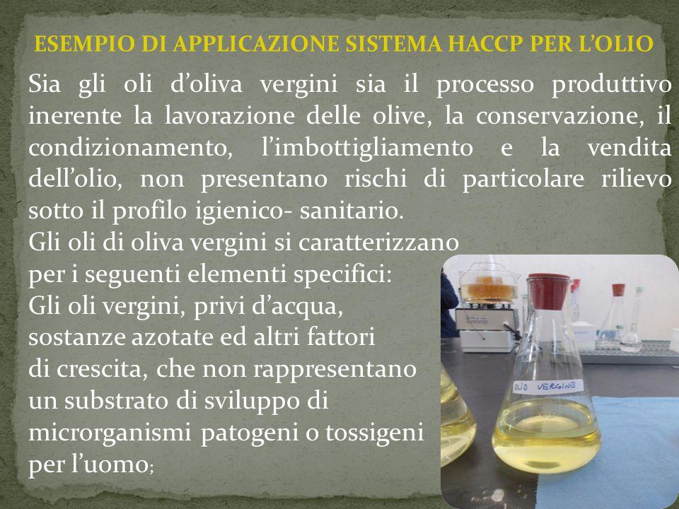 Gli oli di oliva vergini si caratterizzano