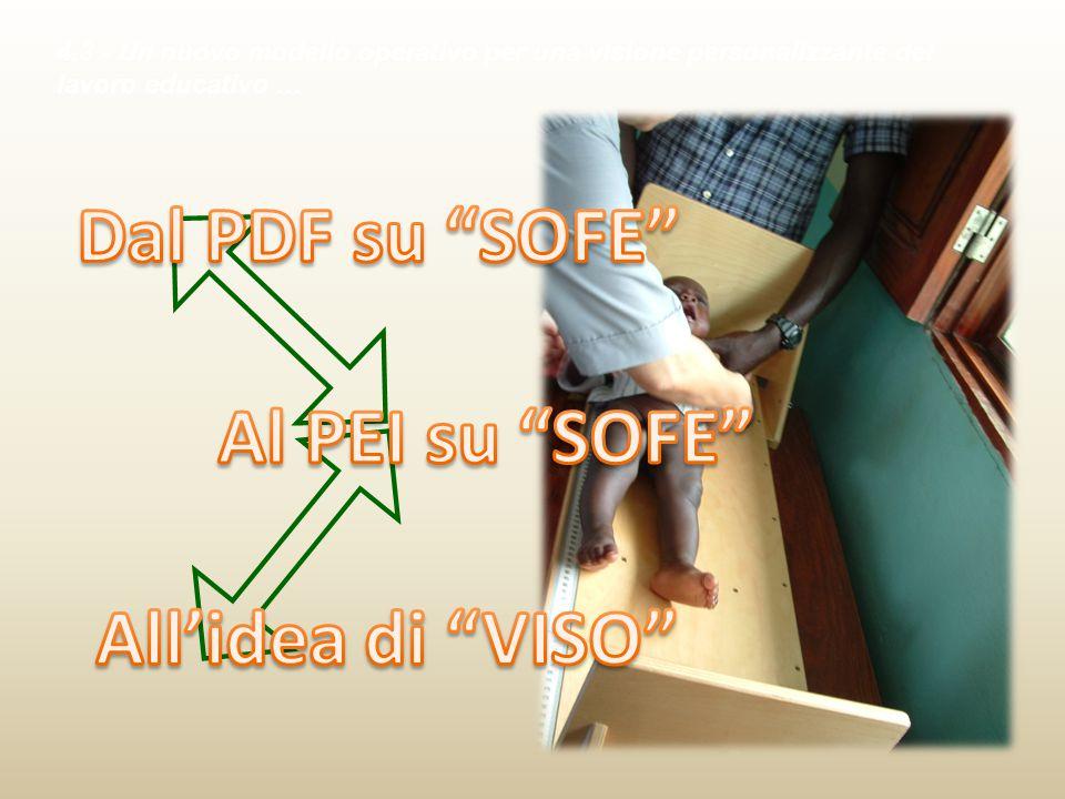 Dal PDF su SOFE Al PEI su SOFE All'idea di VISO