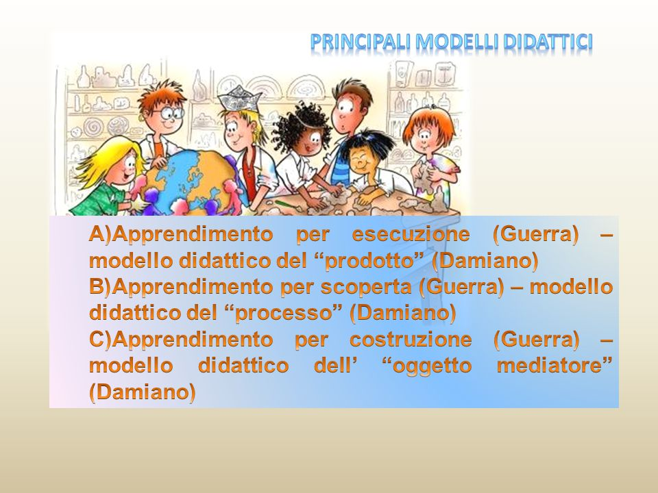 principali modelli didattici