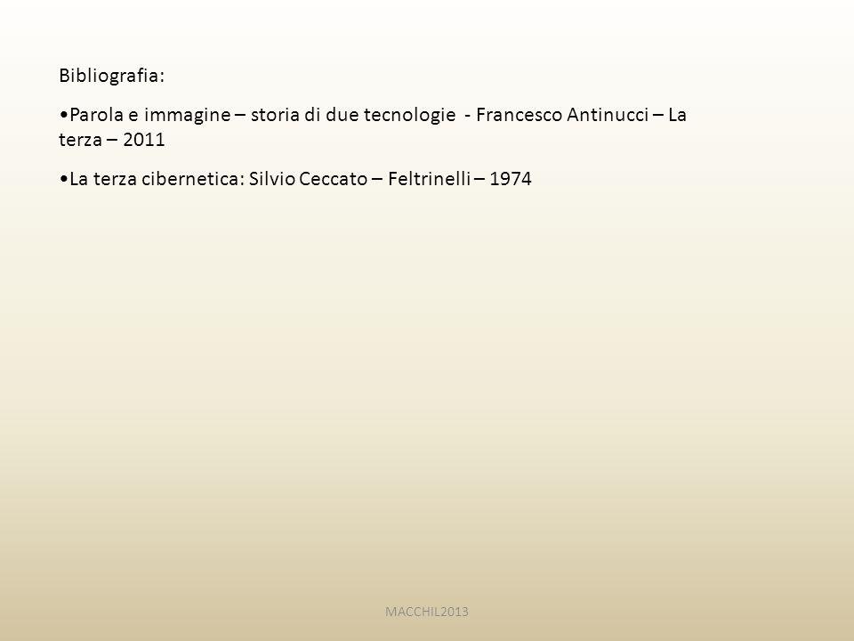La terza cibernetica: Silvio Ceccato – Feltrinelli – 1974